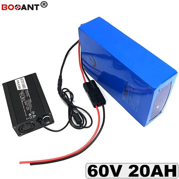 60v 20ah electric bicycle lithium battery 60v for bafang bbshd 1000w 1500w motor e-bike battery 60v +5a charger ing