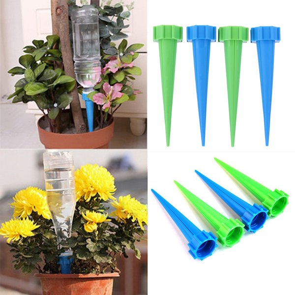 4pcs/lot Indoor Automatic Watering Irrigation Kits System Houseplant Spikes For Plant Potted Flower Energy Saving Environmental C19041901