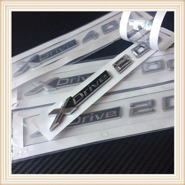 top popular New Car Styling 3D ABS Xdrive 20d 25d 28d 30d 35d 40d 45d 48d 50d Side Badge Emblem Sticker For BMW X2 X3 X4 X5 2021