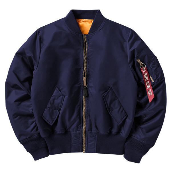 Dark Blue MA1 Coat