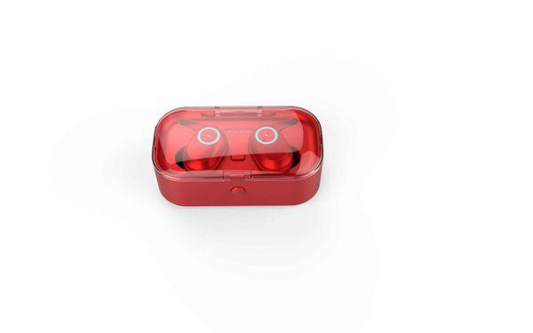 T1 TWS Kablosuz Bluetooth Kulaklık 5.0 İkili Mini Kulak Güç Ekranı, Ses Kontrolü, Çağrı Fonksiyonu, Müzik Desteği, Çoklu Bağlantı