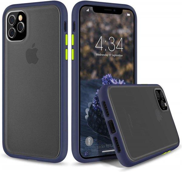 iphone 11 pro 11 pro MAX Hibrit Ultra İnce Darbeye TPU Tampon Cep Telefonu Kılıf için şeffaf Zırh Kılıf