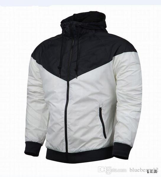 Free shipping Fall thin windrunner Men Women sportswear high quality waterproof fabric Men sports jacket Fashion zipper hoodie Outwear