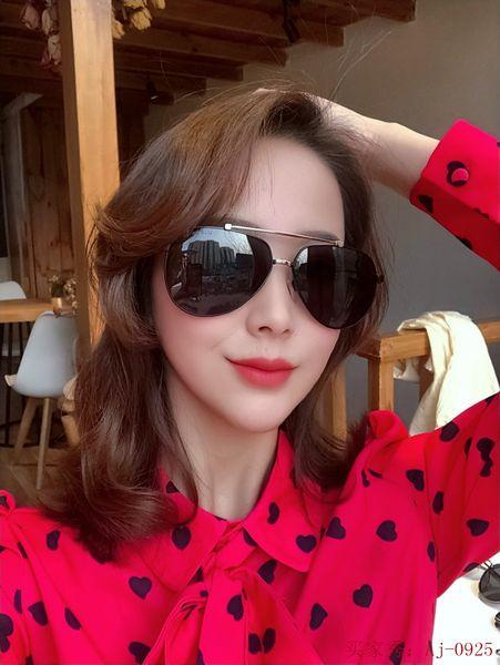 Las prohibiciones de calidad superior 2019 LOUIS 0925 MARCA de la moda gafas de sol de los hombres y mujeres de lujo 61mm UV400 lente polarizada Gafas Gafas Ray