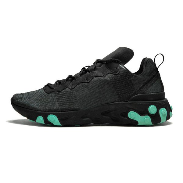 17 black green