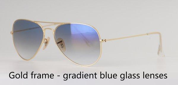 золото градиент от синего