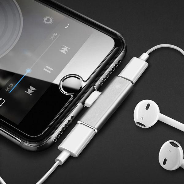 Разъем Splitter Зарядное устройство USB c адаптер Аудио кабель для зарядки Адаптер для наушников Для Huawei P20 Разъем для наушников AUX-кабель