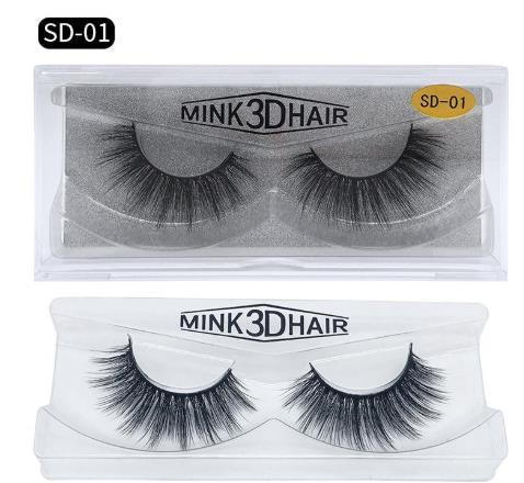 Shi için hazır 3D Vizon Kirpik Göz makyajı Vizon Yanlış lashes Yumuşak Doğal Kalın Sahte Kirpikler 3D Göz Lashes Uzatma Güzellik Araçları 17 stilleri
