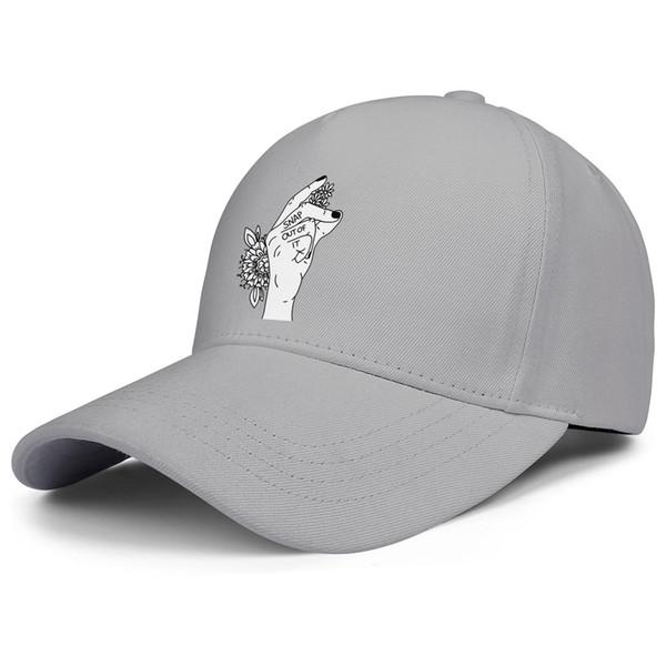 Arctic-monkeys-sticker-FLOWER grey mens and women trucker cap ball design custom sports team youth hats