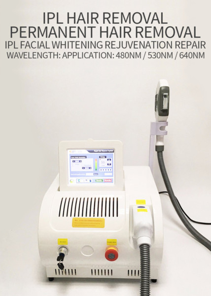 IPL OPT SHR hair removal machine E-light permanent hair remover skin rejuvenation pigment removal face and body massager