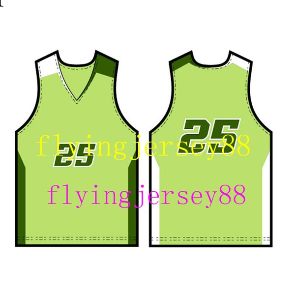 2019 New Basketball Maillots hommes blanc noir 100% Cousu de haute qualité Basketball Maillots s-xxl 999flyingjer36636