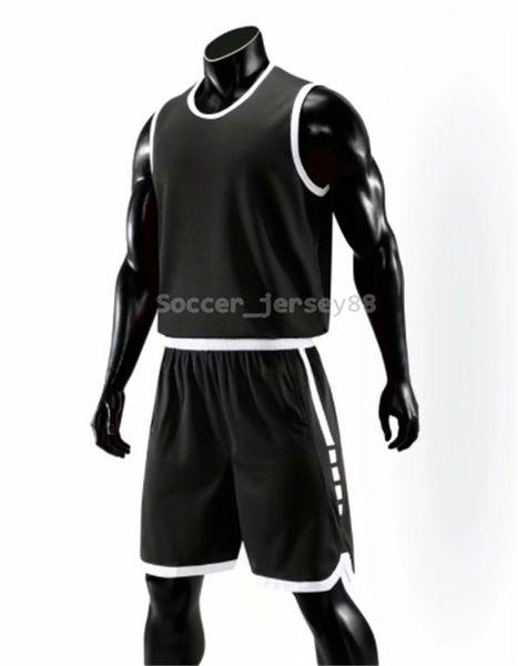 Yeni Erkek Blank Sürümü Basketbol Formalar # E814-2 özelleştir Sıcak Satış Hızlı Kurutma tişört Kulübü veya Takım forması İletişim me formalarını