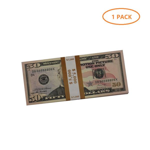 1 упаковка 50 dolars (100шт)