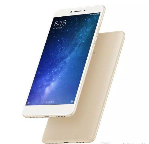"Original Xiaomi Mi Max 2 android 4GB RAM 128GB ROM 6.44"" Display Snapdragon 625 Octa Core unlocked cell phones Max2 12.0MP 4K Camera 5300mAh"