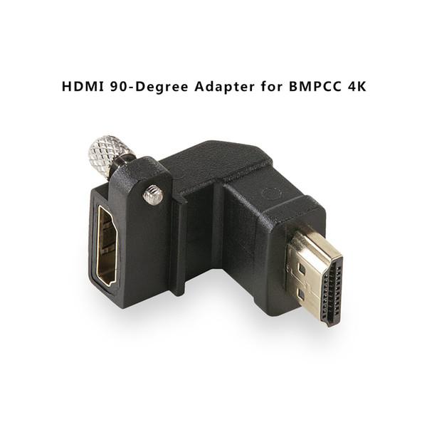 Tilta TA-T01-HDA-90 Adaptador Preto de 90 Graus para BMPCC 4K