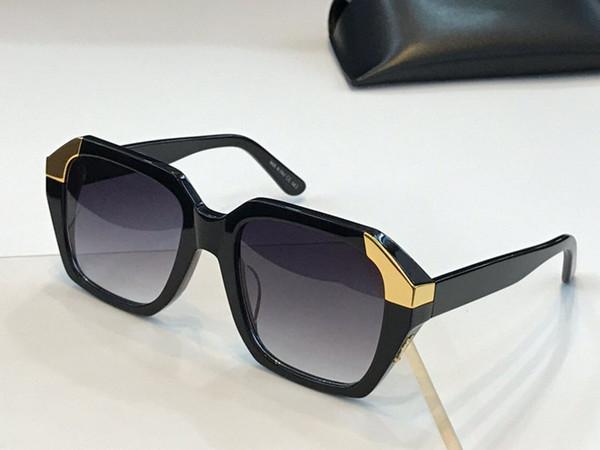 51 lunettes de soleil de luxe pour femmes designer simple tendance style lunettes de soleil dames de mode féminine Goggle anti-UV400 lentille lunettes avec boîte