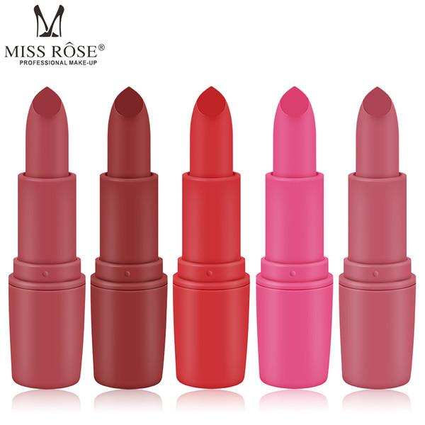 Factory Price Lipstick 25 Single Color Hot Cheap Original MISSROSE Matte Lipstick For Beauty Colors Lip Gloss Makeup Cosmetics Free Shipping