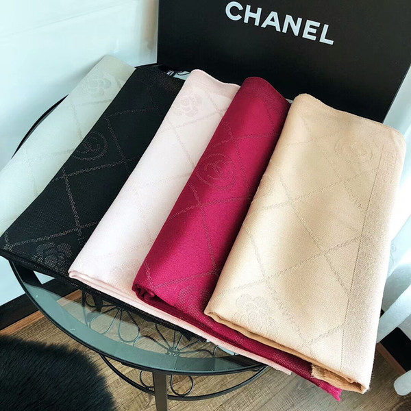 nouveau brillant or et argent ligne nouvelle marque hommes et femmes châle de mode châle de coton doux 180 * 70cm 20 couleur en gros
