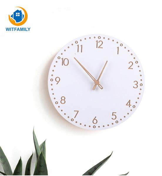 explosion models roman numerals wall clock modern minimalist wooden clock european fashion atmosphere clocks round home