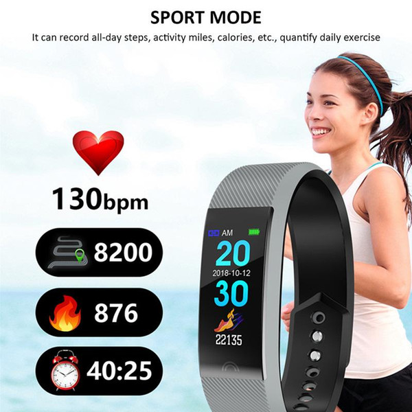 F6 intelligente Bracciale Heart Rate Monitor impermeabile Fitness Tracker Bluetooth cinturino per Android IOS donne degli uomini Wristband
