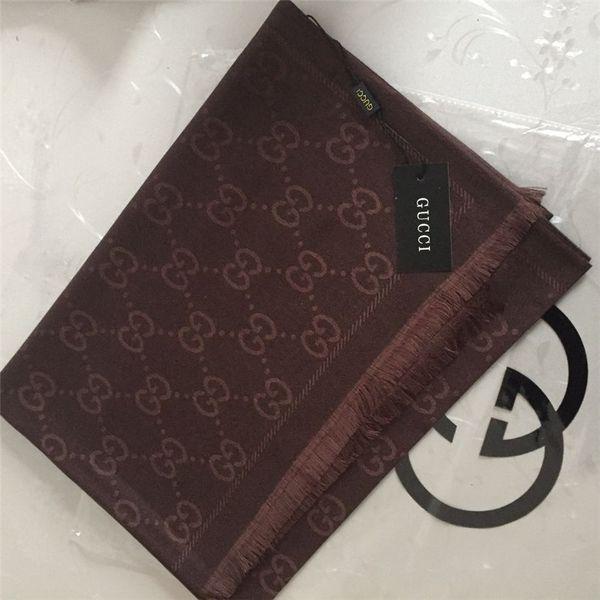 2019 Designer-Schal aus weichem Baumwollgarn mit Jacquardmuster Designer-Schal für Herren und Damen 180 * 70cm