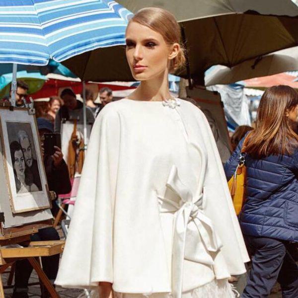 White Elegant Wedding Wraps Satin Winter Coats High Quality Bridal Jackets Corset Custom Made Shawls Warm Bolero Coats