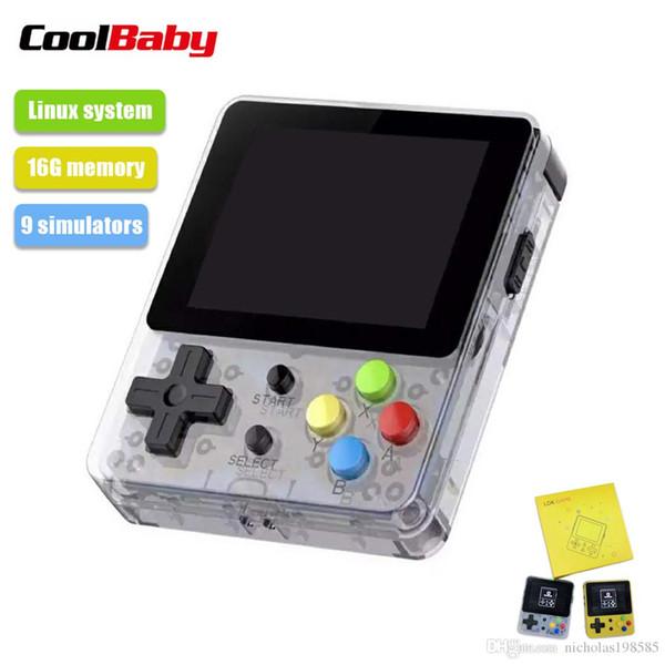 LDK Oyunu 2.6 inç Ekran Mini El Oyun Konsolu Nostaljik Çocuk Retro Oyun Aile TV Video Konsolları 16 GB GBA GBC GB FC Için FC SFC NEOGEO
