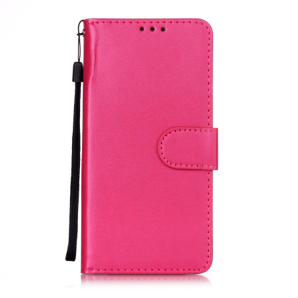 for Huawei honor 20 20pro solid color mobile phone case card flip wallet PU leather case flip multi-function anti-fall phone holster