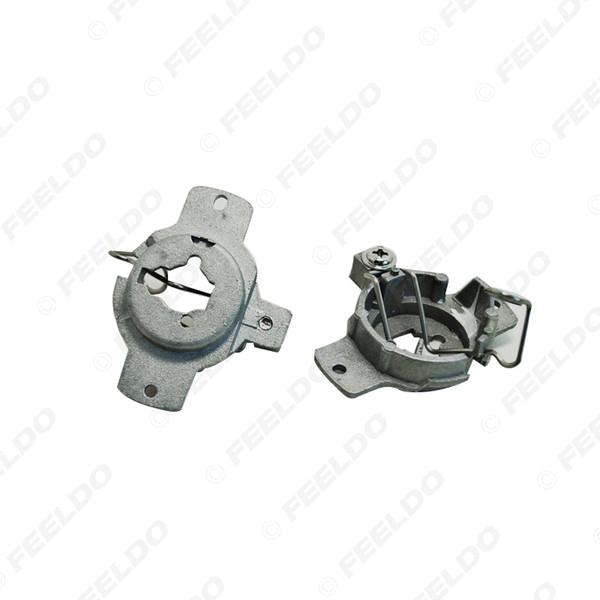 best selling LEEWA 2x Car H1 HID Xenon Beam Installation Bulbs Socket Adapter For Mercedes S-CLASS(1993-1998) #1338
