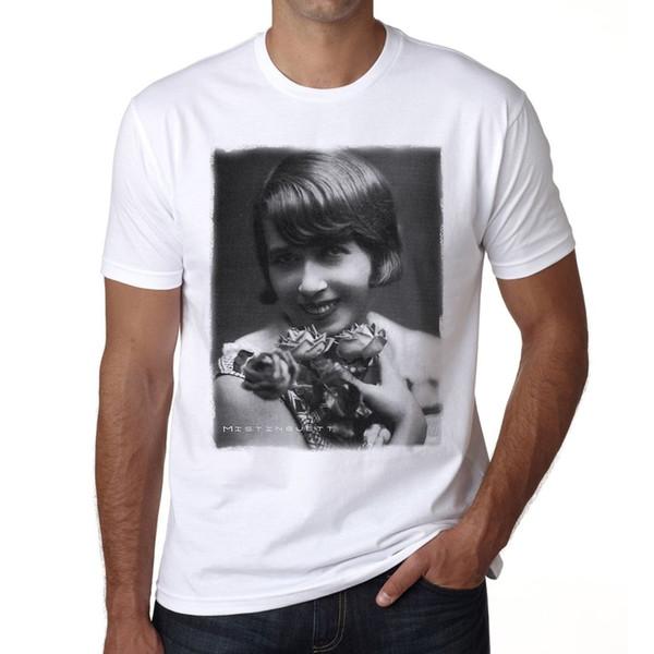 Мистингетт ч футболки мужские футболки печать фитнес футболки мужчины свободного покроя t рубашка лето футболки топы