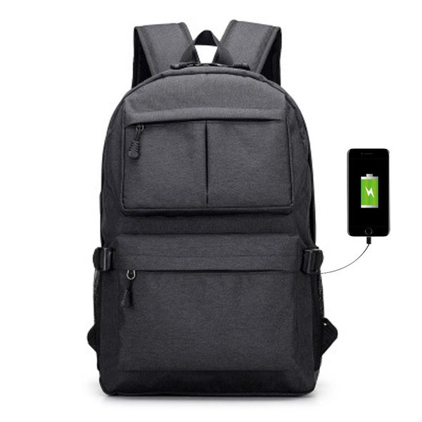 Men And Women Waterproof Anti Theft Business Travel Backpack With Usb Charger Port Laptop Book Shoulder Bag Popular Fa$3