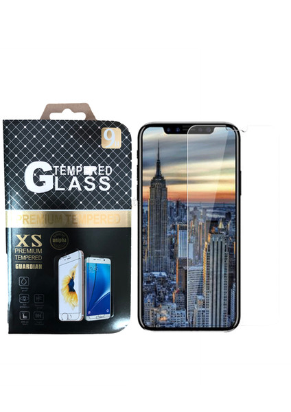 For Iphone 11 Pro X XR XS MAX 8 7 6 Plus 5S Tempered Glass Screen Protector Anti-Shatter 9H 2.5D Film with Retail Package
