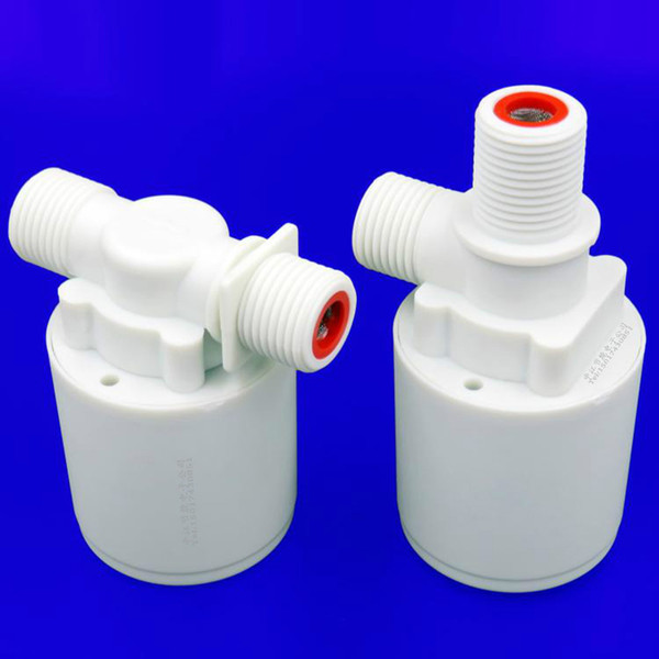 "top popular Float Valve for Water Tank Sink Water Towers Fully Automatic Water Level Float Control Valve Free Plug Inlet Valve Outlet Valves G1 2"" 2021"