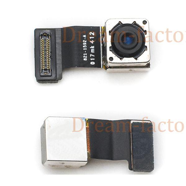 30pcs Back Big Rear Camera With Flash Module Sensor Flex Cable For iPhone 5 5S 5C SE Repair Spare Parts Free DHL