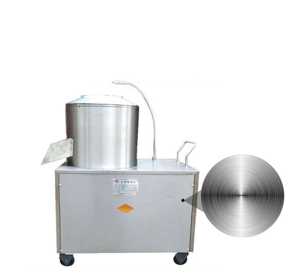 electric potato peeling machine 150-220 kg/h potato peeler with cleaning function high efficiency peeling machine