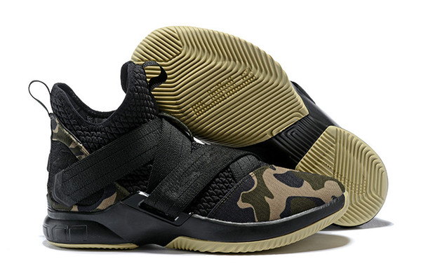 cheap for discount 46152 f262c 2019 High Quality Athletic LeBron Soldier 12 SVSM Home Basketball Shoes  White Multi Color Sneaker From Yeezyshoes_vip, $42.22 | DHgate.Com