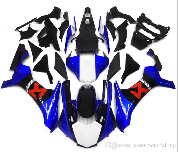 New Injection Mold High quality ABS Motorcycle Fairing Kits 100% Fitment For YAMAHA YZF1000 R1 YZF-R1 2015 2016 15 16 blue red black white