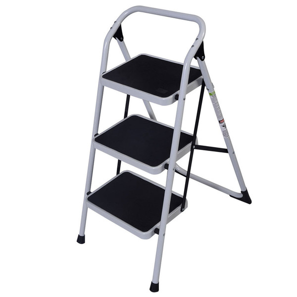 Miraculous 2019 3 Step Ladder Folding Stool Portable Heavy Duty Capacity Chairs Industrial Lightweight Foldable Ladders Gray Home Tool From Lovetrendy 32 95 Spiritservingveterans Wood Chair Design Ideas Spiritservingveteransorg