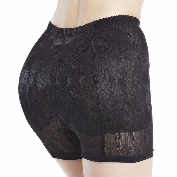 2019 New Low Rise Imbottito Mutandine DonnaDonne Panty Pad 2PCs Silicone Shapewear Bum Butt Hip Up Enhancer Regalo Underwear
