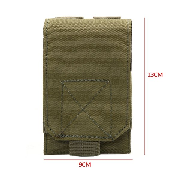 Loop Belt Pouch Holster Cover Case For The Mobile Phone Outdoor Equipment Tactical Holster Army Camo Camouflage Bag Hook #743837