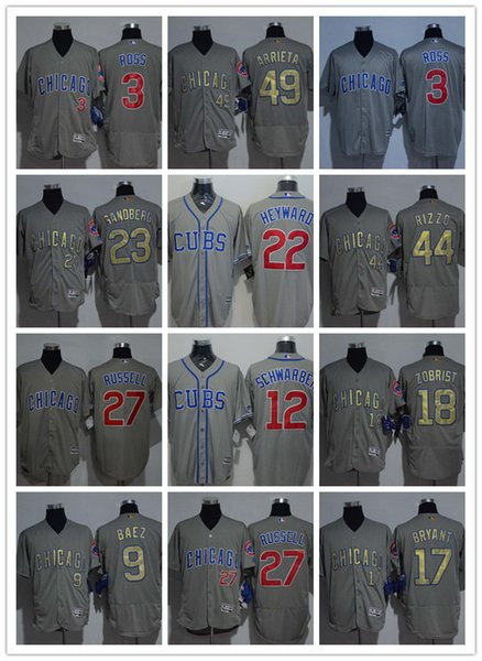 2018 Chicago Cubs 8 Ian Happ Baseball 02 Jerseys Custom Sports mlb Cheap Jersey Fashion factory Women Youth