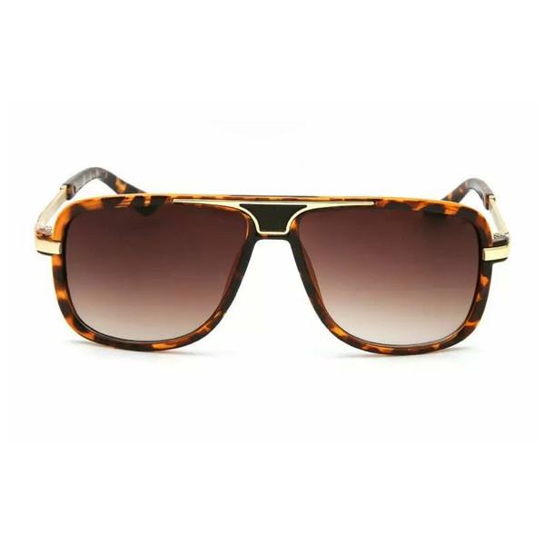 Women Fashion Full Frame Letter Designer Brand Sunglasses Square UV Protection Luxury Sun Glass Gift for Love High Quality