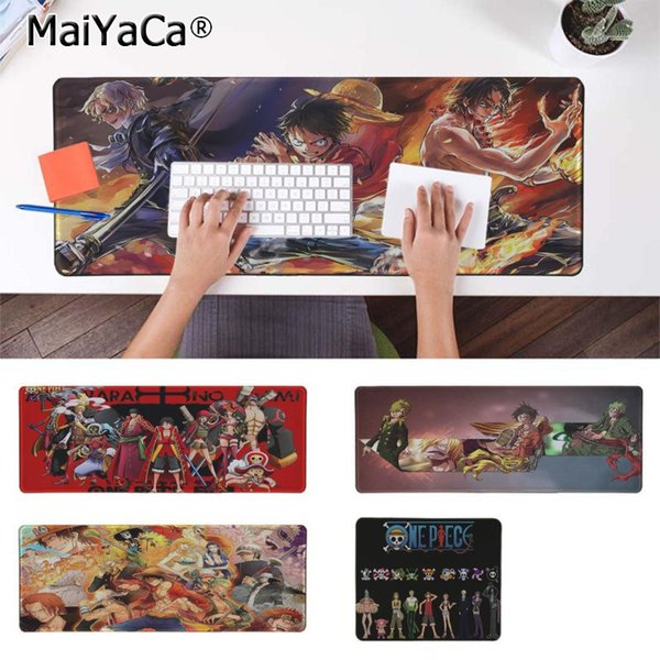 Maiyaca High Quality ONE PIECE Office Mice Gamer Soft Mouse Pad Rubber PC Computer Gaming mousepad