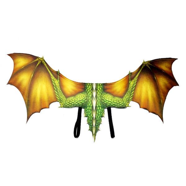 Yellow dragon wings