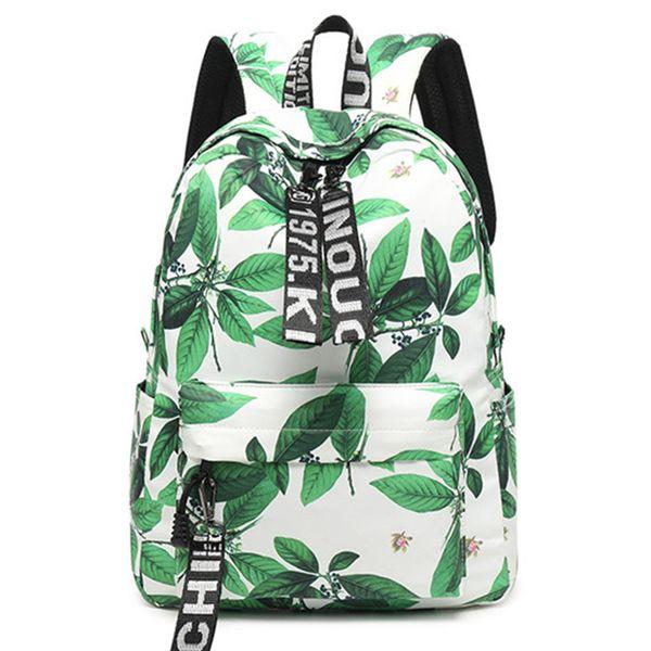 Fashion Women Chinese Style Backpack Printing High Capacity School for Teenage Girls Knapsack Bookbag Trip Laptop Back Bag