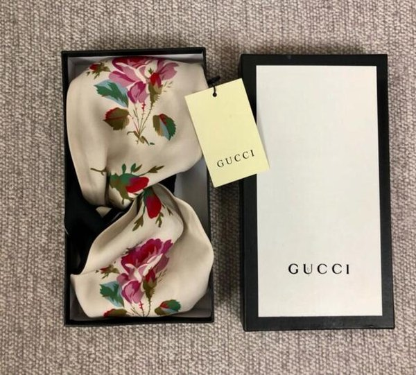 19 style 2019 Luxury Designer G Style 100% Silk Cross Headband Women Girl Elastic Hair bands Retro Turban Headwraps Gifts Flowers Hummingbir