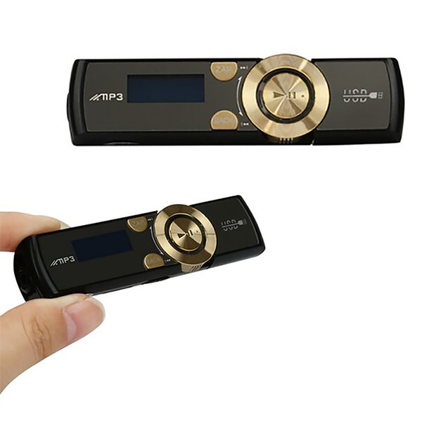 Mini MP3 Player Clip Mp3 USB LCD Screen Support 8GB Flash TF Player Supports FM Radio Function Mini Music