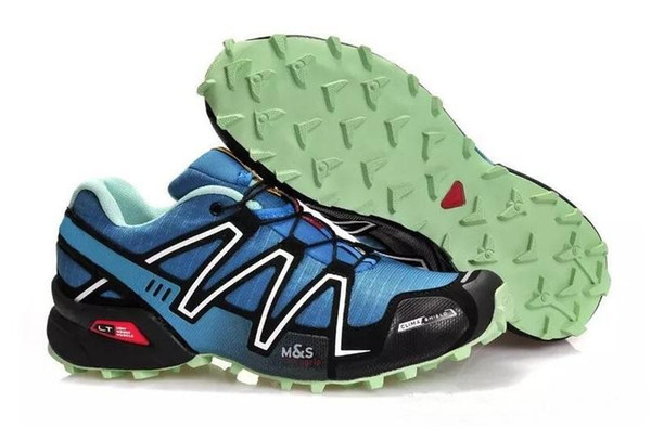 2018 arrive Zapatillas Speedcross 3 Running Shoes Walking Outdoor Speed cross Sport Sneakers iii Athletic Hiking Size 46 c29