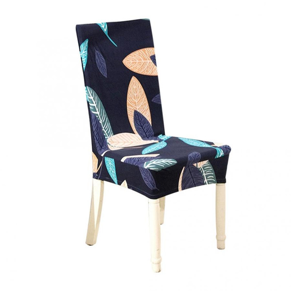 Marvelous Cover Chair Polyester Print Elastic Chairs Cover Removable Protective Covers For Home Wedding Hotel Covers For Chairs New Furniture Covers For Couches Machost Co Dining Chair Design Ideas Machostcouk