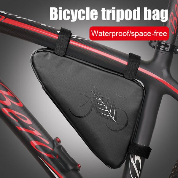 Waterproof Bicycle Tripod Bag Triangles PU Bag Crossbeam Package Mountain Bike Toolkit XR-Hot